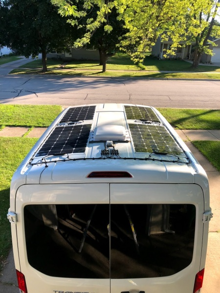 Solar Panels Vanspiration